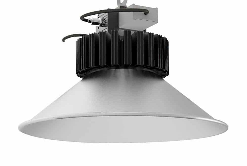 120 graders højloftslampe