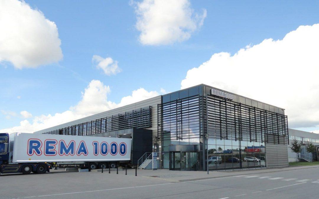 Kantine REMA 1000 hovedsæde i Horsens