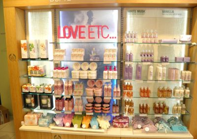 LEDpartner The Body Shop, Aarhus C