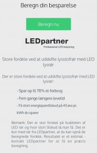 LEDpartner app